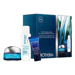 Conjunto de Cosmética Mulher Blue Therapy Eye Cream Biotherm (3 pcs)