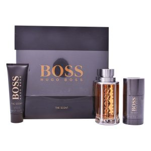 Conjunto de Perfume Homem The Scent Hugo Boss-boss (3 pcs)