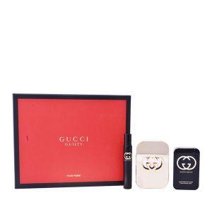 Conjunto de Perfume Mulher Guilty Gucci (3 pcs)