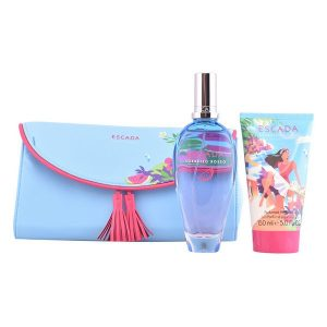 Conjunto de Perfume Mulher Sorbetto Rosso Escada (3 pcs)