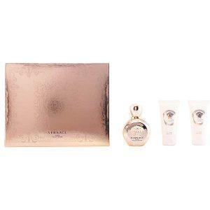 Conjunto de Perfume Mulher Eros Pour Femme Versace (3 pcs)