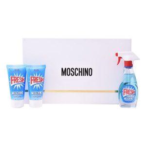 Conjunto de Perfume Mulher Fresh Couture Moschino (3 pcs)