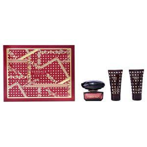Conjunto de Perfume Mulher Crystal Noir Versace (3 pcs)