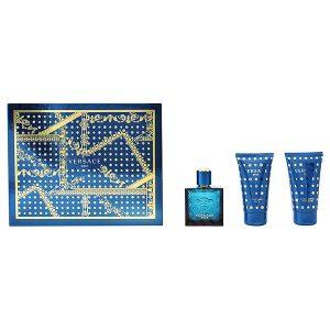 Conjunto de Perfume Homem Eros Versace (3 pcs)