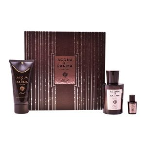 Men's Perfume Set Colonia Oud Acqua Di Parma (3 pcs)