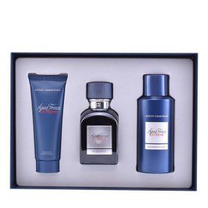 Conjunto de Perfume Homem Agua Fresca Extreme Adolfo Dominguez (3 pcs)