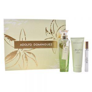 Conjunto de Perfume Mulher Agua Fresca De Azahar Adolfo Dominguez (3 pcs)