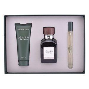 Conjunto de Perfume Homem Vetiver Adolfo Dominguez (3 pcs)