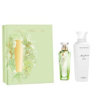 Conjunto de Perfume Mulher Agua Fresca De Azahar Adolfo Dominguez (2 pcs)