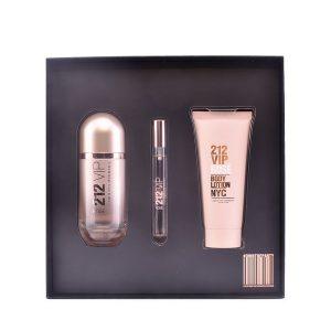 Conjunto de Perfume Mulher 212 Vip Rosé Carolina Herrera (3 pcs)