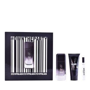Conjunto de Perfume Homem 212 Vip Black Carolina Herrera (3 pcs)