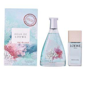 Conjunto de Perfume Mulher Agua Mar De Coral Loewe (2 pcs)