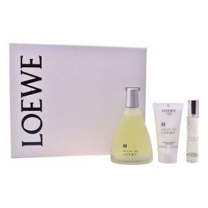 Conjunto de Perfume Homem Agua Loewe (3 pcs)