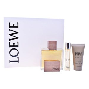 Conjunto de Perfume Homem Cedro Loewe (3 pcs)
