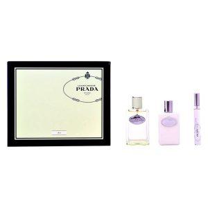 Conjunto de Perfume Mulher Infusion D'iris Prada (3 pcs)
