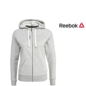 Reebok® Casaco Sudadera Elements Full Zip Fleece Grey