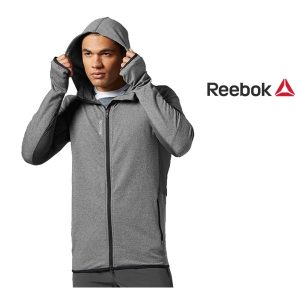 Reebok® Casaco Full Zip Grey