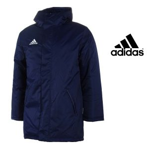 Adidas® Casaco Impermeável Coref Stadium Dark Blue
