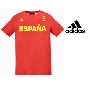 Adidas® T-Shirt Uefa Euro 2016 Spain Junior | Tecnologia Climalite®