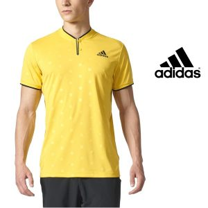 Adidas® T-Shirt London Polo Yellow | Tecnologia Climacool®