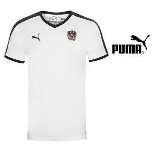 Puma® Camisola Austria Away Kit White