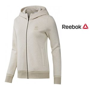 Reebok® Casaco Fleece Full Zip Beige