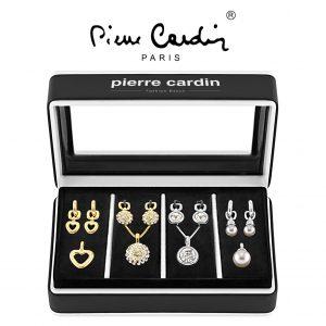 Conjunto Pierre Cardin® PXX0211 | 4 Colares + 4 Pares de Brincos