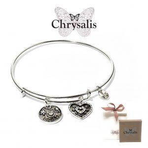 Pulseira Chrysalis® Grandma | Silver | Tamanho Adaptável | Com Caixa ou Saco Oferta
