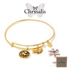 Pulseira Chrysalis® Niece | Gold | Tamanho Adaptável | Com Caixa ou Saco Oferta