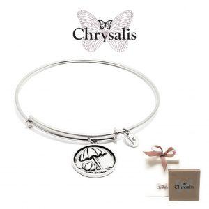 Pulseira Chrysalis® Beach Ball | Silver | Tamanho Adaptável | Com Caixa ou Saco Oferta