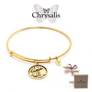 Pulseira Chrysalis® Beach Ball | Gold | Tamanho Adaptável | Com Caixa ou Saco Oferta