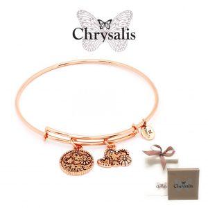 Pulseira Chrysalis® Aunt | Rose Gold | Tamanho Adaptável | Com Caixa ou Saco Oferta