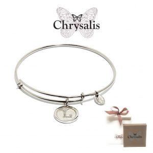 Pulseira Chrysalis® Letter L | Silver | Tamanho Adaptável | Com Caixa ou Saco Oferta