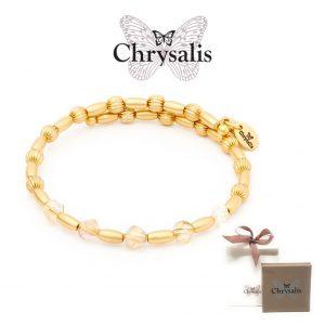 Pulseira Chrysalis® Gaia Winter | Gold | Tamanho Adaptável | Com Caixa ou Saco Oferta