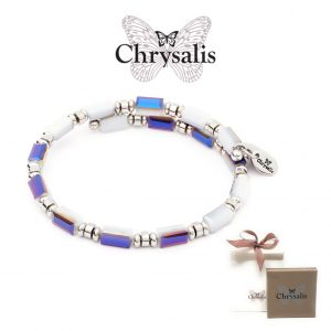 Chrysalis® Bracelet Gaia Winter | Gray White | Adaptive Size | With Box or Bag Offer