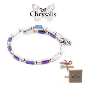 Pulseira Chrysalis® Gaia Water | Grey White | Tamanho Adaptável | Com Caixa ou Saco Oferta