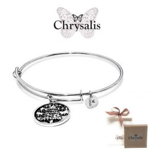 Chrysalis® Fir Tree Bracelet | Silver | Adaptive Size | With Box or Bag Offer