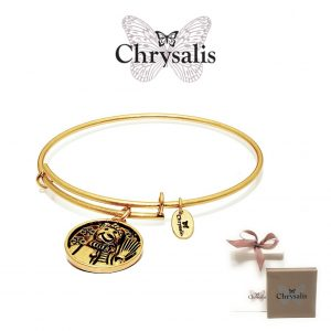 Pulseira Chrysalis® Snowman | Gold | Tamanho Adaptável | Com Caixa ou Saco Oferta