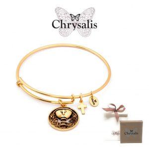 Pulseira Chrysalis® Chalice | Gold | Tamanho Adaptável | Com Caixa ou Saco Oferta