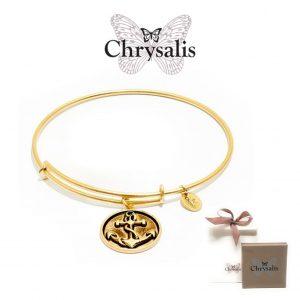 Pulseira Chrysalis® Anchor | Gold | Tamanho Adaptável | Com Caixa ou Saco Oferta