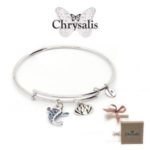 Chrysalis® Koi Fish Bracelet | Silver | Adaptive Size | With Box or Bag Offer