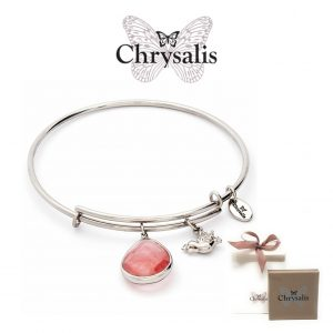 Chrysalis® Pink Tourmaline Bracelet | Silver | Adaptive Size | With Box or Bag Offer