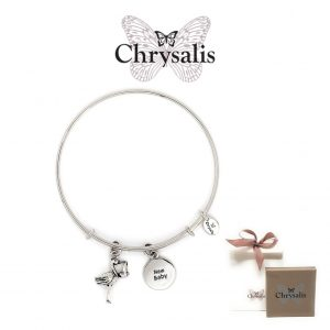 Chrysalis® New Baby Bracelet | Silver | Adaptive Size | With Box or Bag Offer
