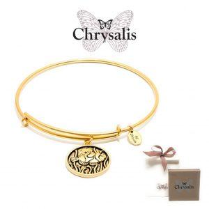Pulseira Chrysalis® Fish | Gold | Tamanho Adaptável | Com Caixa ou Saco Oferta