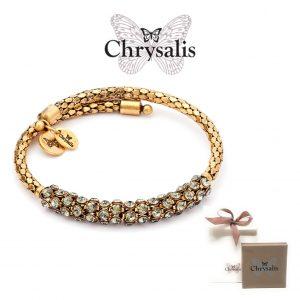 Pulseira Chrysalis® Curiosity | Gold | Tamanho Adaptável | Com Caixa ou Saco Oferta