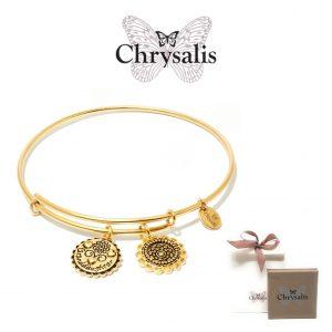 Pulseira Chrysalis® Granddaughter | Gold | Tamanho Adaptável | Com Caixa ou Saco Oferta