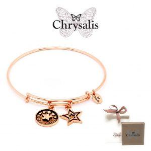 Pulseira Chrysalis® Goddaughter | Rose Gold | Tamanho Adaptável | Com Caixa ou Saco Oferta
