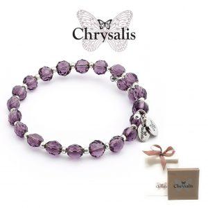 Pulseira Chrysalis® Gaia | Rainbow Purple | Tamanho Adaptável | Com Caixa ou Saco Oferta