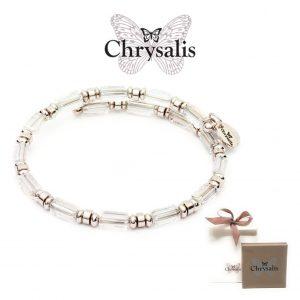 Pulseira Chrysalis® Gaia Water | Crystal | Tamanho Adaptável | Com Caixa ou Saco Oferta