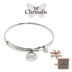 Pulseira Chrysalis® Letter W | Silver | Tamanho Adaptável | Com Caixa ou Saco Oferta